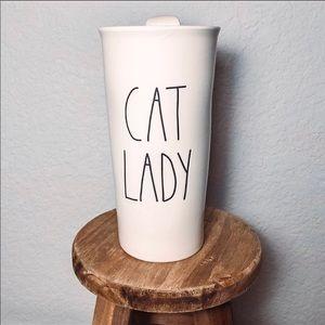 Rae Dunn Cat Lady Tumbler